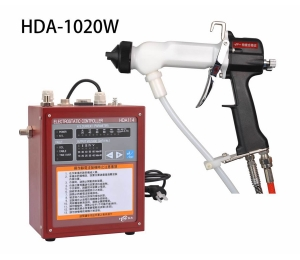 HONGDA HDA-1020 hing efficiency good atomization  air pressure  Manual electrostatic liquid paint spray gun